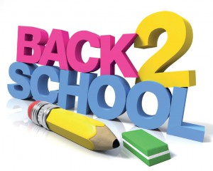 School Begins September 1, 2015