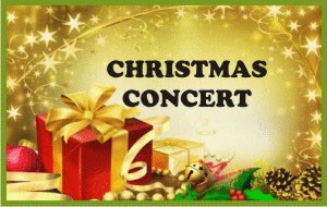 CHRISTMAS CONCERT DECEMBER 20th 1:30 and 7:00