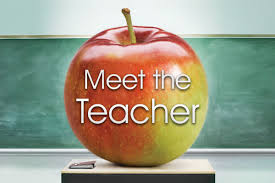 Meet the Teacher September 3rd