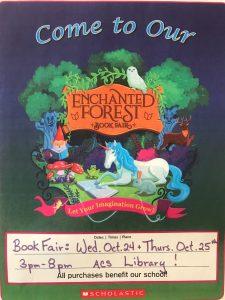 BOOK FAIR Oct. 24th & 25th