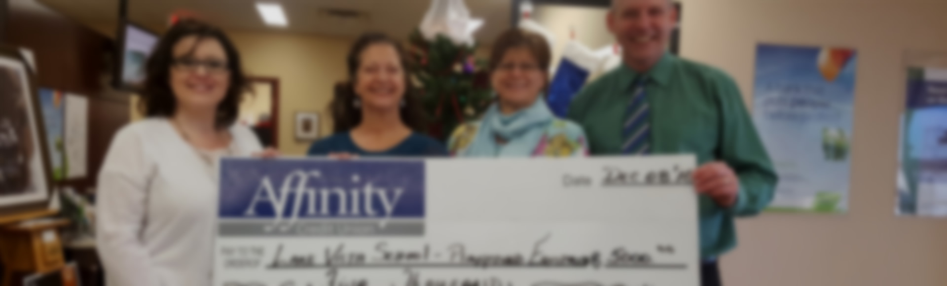 Playground Donation from Affinity Credit Union