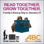 Family Literacy Day – Monday, January 27th