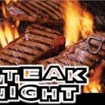 SCC Steak Night March 1st