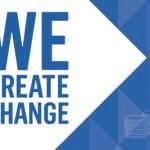 We Create Change Campaign