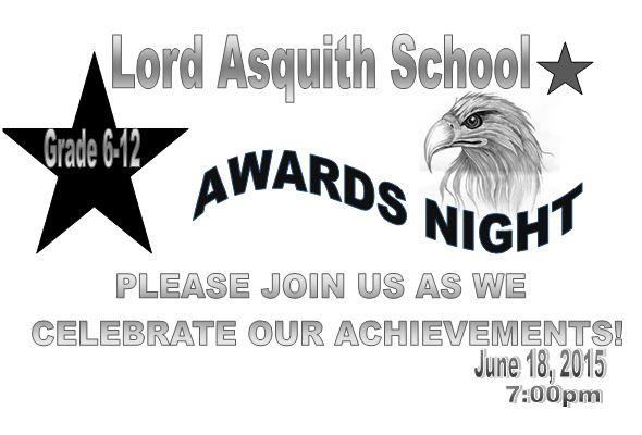 awards night invite 2015
