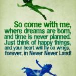Peter Pan Reading Bingo