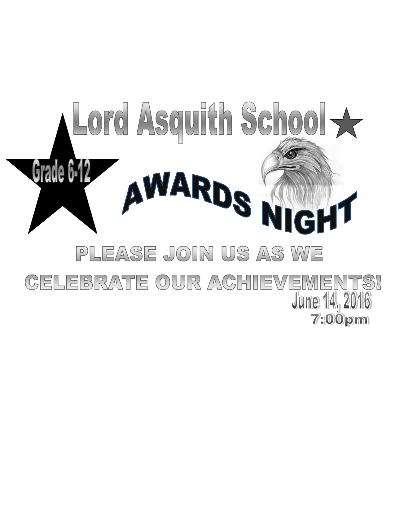 Award Night Invitation