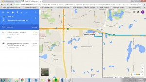 directions to lakeview church - zoomed